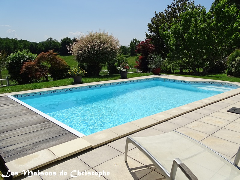 Vente maison villa briscous 64240 for Piscine 19eme